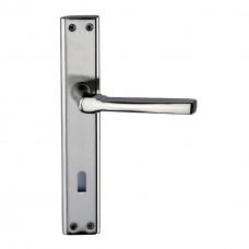 Pearl Zinc Backplate Door Handle