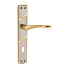 Azra Sheet Iron Backplate Door Handle
