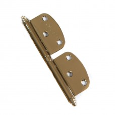 12 cm Luxury Bi-Fold Non-Mortise Hinge